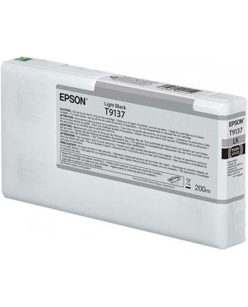 Tusz Epson T9137 Light Black | 200 ml