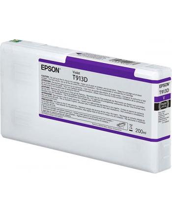 Tusz Epson T913D Violet | 200 ml
