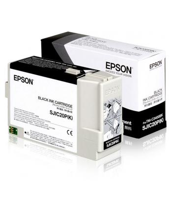 Tusz Epson C33S020490 Black | TM-C3400BK