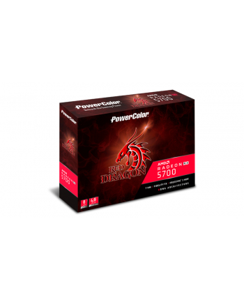 powercolor tul PowerColor RX 5700 Red Dragon, 8GB GDDR6, HDMI, 3xDP