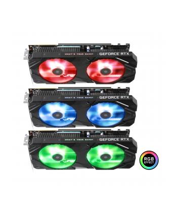 KFA2 GeForce RTX 2080 SUPER EX (1-Click OC), 8GB GDDR6, 3xDP, HDMI