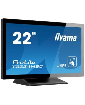 Monitor IIyama TF2234MC-B6X 21.5'', IPS touchscreen, FullHD, HDMI/DP