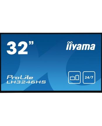 Monitor Iiyama LH3246HS-B1 31.5'', IPS, FullHD, DVI/DP/HDMI/USB, głośniki