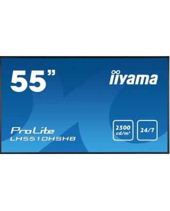 Monitor Iiyama LH5510HSHB-B1 55'', IPS, FullHD, DVI/DP/HDMI, głośniki
