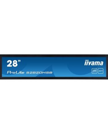 Monitor Iiyama S3820HSB-B1 38'', VA, 1920x540, DVI/HDMI, głośniki