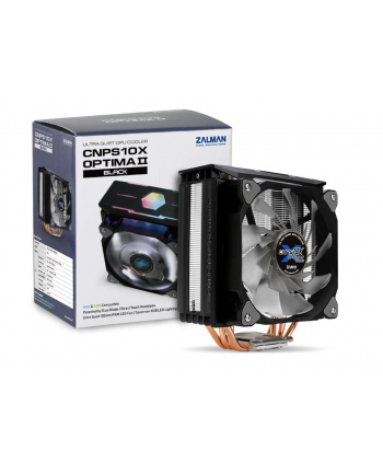Zalman CNPS10X OPTIMA II Black Wentylator CPU