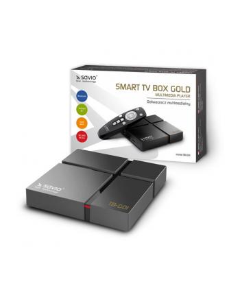 Odtwarzacz multimedialny SAVIO box gold TB-G01 (16GB; kolor czarny)