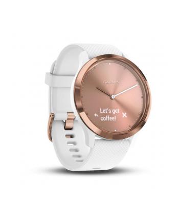 Zegarek sportowy Garmin Vivomove 010-01850-02 (kolor różowy)