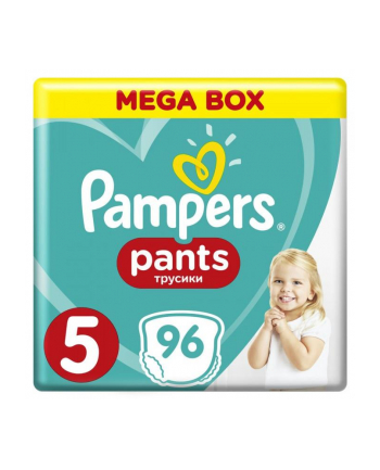 Pampers Pieluchomajtki Mega Box S5 96