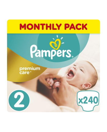 Pampers Pieluchy Premium Monthly Box S2 240