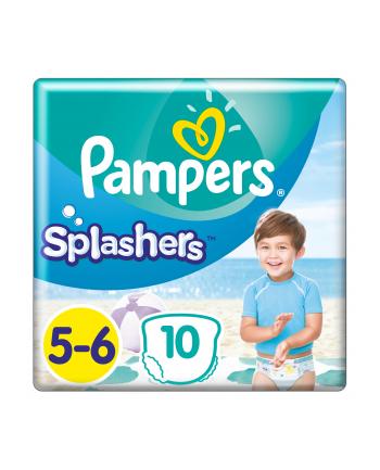Pampers pieluchomajtki Splashers S5 10szt