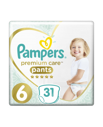 Pampers pieluchomajtki Premium Value Pack S6 31szt