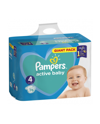 Pampers pieluchy Active Baby Maxi 3 76 szt