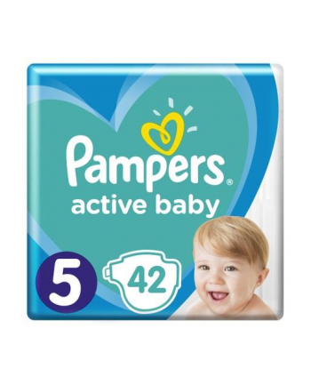 Pampers pieluchy Junior 5 11-16 kg 42 szt