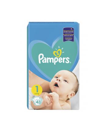 Pampers Pieluchy Newborn 1 2-5 kg 43 szt