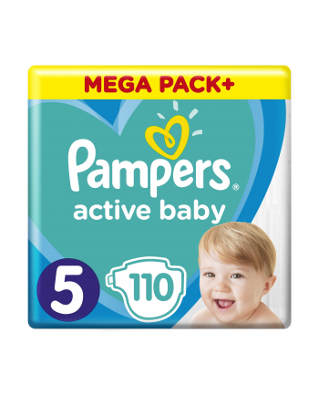 Pampers Pieluchy ABD Mega Pack Junior 110szt
