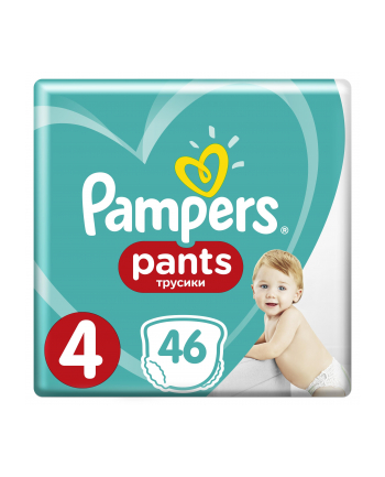 Pampers pieluchomajtki Active Baby Dry Value Pack Plus/Economy Pack S4 46szt