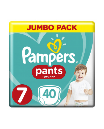 Pampers pieluchomajtki Pants XXLarge 7 40szt