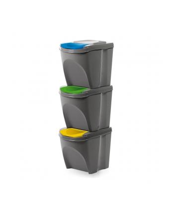 Kosz na śmieci Prosperplast SORTIBOX IKWB20S3-405U (kolor szary)