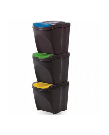 Kosz na śmieci Prosperplast SORTIBOX IKWB20S3-S433 (kolor antracyt)