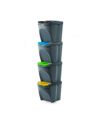 Kosz na śmieci Prosperplast SORTIBOX IKWB20S4-405U (kolor szary)