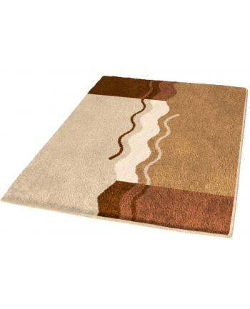 Dywanik łazienkowy Kleine Wolke Vanessa Brown (55 x 65 cm; kolor brązowy)