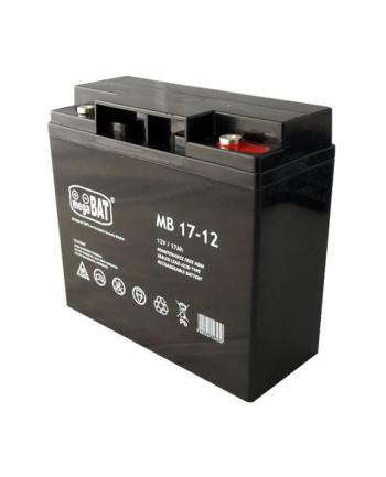 Akumulator UPS MPL POWER ELEKTRO VRLA MB 17-12 (12V DC; 17000mAh)