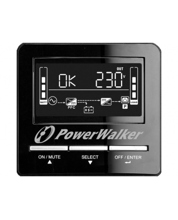Zasilacz UPS POWER WALKER VI 1500 CW (TWR; 1500VA)