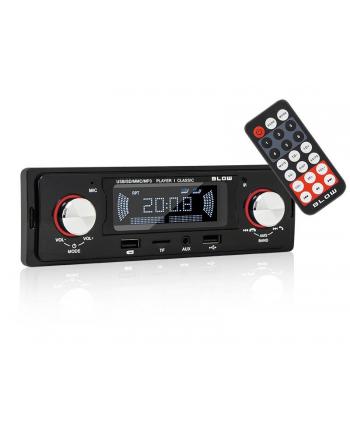 Radio samochodowe BLOW CLASSIC 78-287# (Bluetooth  USB + AUX + karty SD)