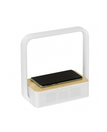 Lampka biurkowa z głośnikiem bluetooth i ładowaniem bezprzewodowym Activejet AJE-ORBI AJE-ORBI (Biały ciepły)