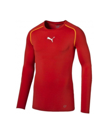 Koszulka sportowa PUMA Puma TB Longsleeve Shirt Tee (męskie; M; kolor czerwony)