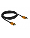 Kabel HDMI Delock M/M v2.1 2m 8K 60Hz czarny - nr 17