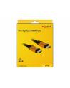 Kabel HDMI Delock M/M v2.1 2m 8K 60Hz czarny - nr 19