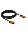 Kabel HDMI Delock M/M v2.1 2m 8K 60Hz czarny - nr 3