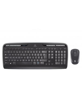 Zestaw bezprzewodowy klawiatura + mysz Logitech MK330 czarny układ niemiecki