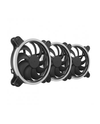 Zestaw wentylatorów do obudowy SilentiumPC Corona HP RGB 140 SPC224 (140 mm; 1200 obr/min; RGB)