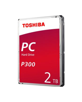Dysk HDD Toshiba P300 3 5  2TB SATA III 64MB 7200obr/min HDWD120UZSVA