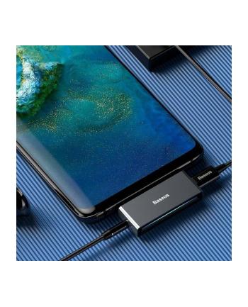 Adapter Baseus CATL57-0A (USB typu C - Jack 3 5 mm ; kolor szary)