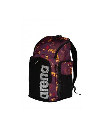 Plecak sportowa Arena Team Backpack 45 Allover (45 litrów; 520mm x 350mm? x 270 mm; 1 komora ; Poliester; kolor fioletowy)