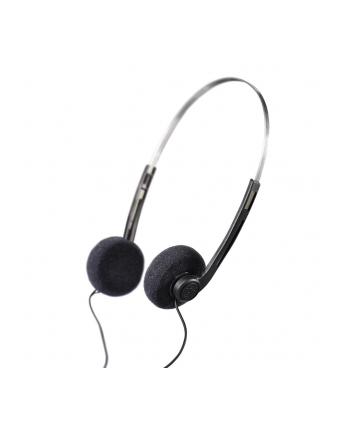 HAMA POLSKA Słuchawki Hama BASIC4MUSIC nauszne, czarne