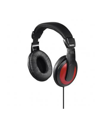 HAMA POLSKA Słuchawki Hama BASIC4MUSIC nauszne czarne