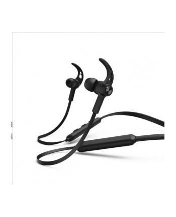 HAMA POLSKA Słuchawki z mikrofonem Hama Bluetooth ''Connect Neck'' dokanałowe czarne