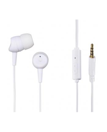 HAMA POLSKA Słuchawki z mikrofonem Hama BASIC4PHONE douszne białe