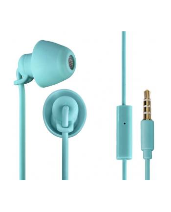 Słuchawki douszne z mikrofonem Thomson EAR3008 Piccolino jasnoturkusowe