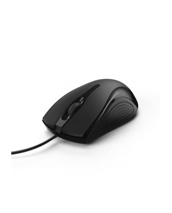 Mysz przewodowa Hama MC-200, Czarna