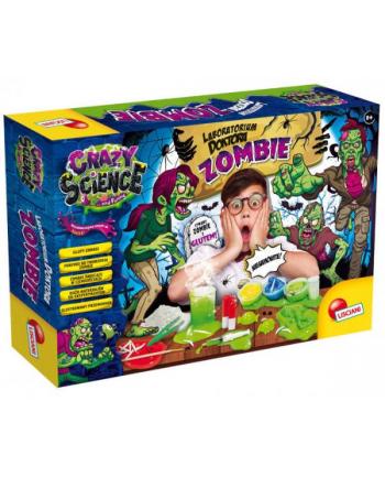 lisciani giochi Crazy Science - Laboratorium Przerażajacych Zombie 68678 LISCIANI