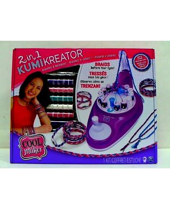 Cool Maker KUMIKREATOR 2w1 Bransoletki i naszyjniki 6053898 p3 Spin Master