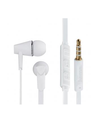 HAMA POLSKA Słuchawki z mikrofonem Hama''Joy'' dokanałowe białe