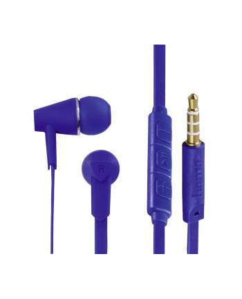 HAMA POLSKA Słuchawki z mikrofonem Hama''Joy'' dokanałowe niebieskie