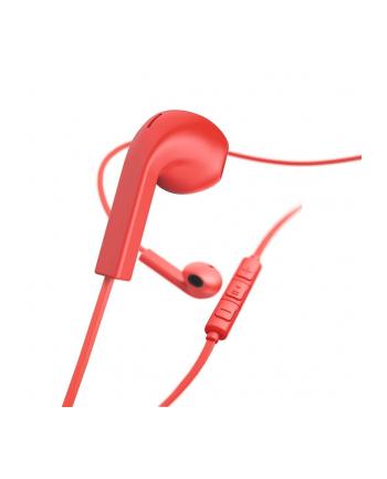 HAMA POLSKA Słuchawki z mikrofonem Hama ''Advance'' douszne czerwone